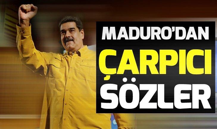 NİCOLAS MADURO'DAN FLAŞ SÖZLER: BENİ ÖLDÜRME EMRİ VERİLDİ