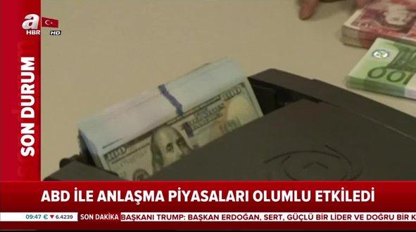 Türkiye ve ABD arasındaki Suriye anlaşması doların ateşini düşürdü