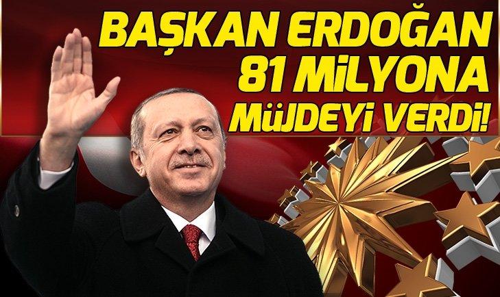 Başkan Erdoğan milyonlara müjdeyi verdi! Kart borcu bitiyor