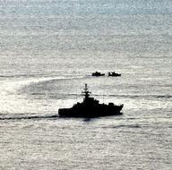 Türk ve Yunan güçleri Kardak yakınlarında bekliyor