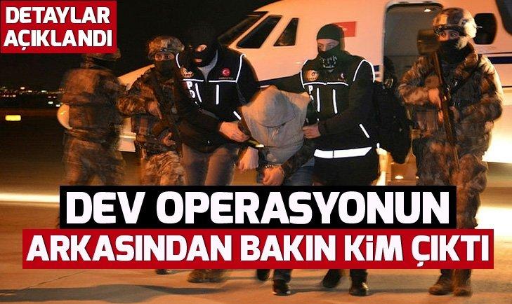 DEV OPERASYONUNUN ARKASINDAN PKK ÇIKTI