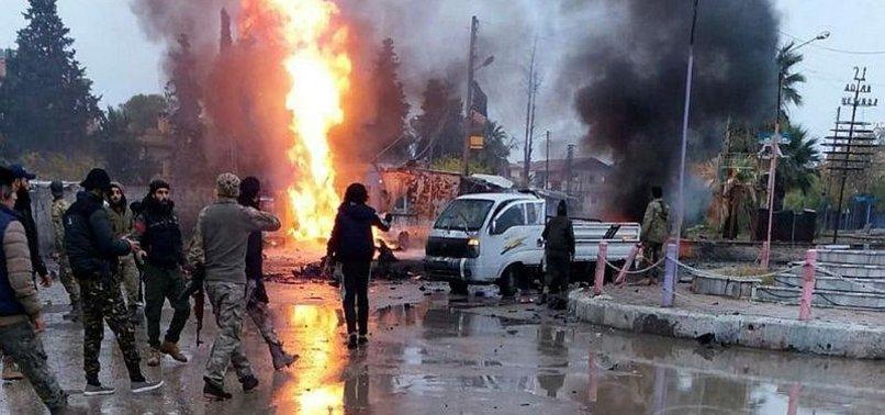 YPG'Lİ TERÖRİSTLERDEN HAİN SALDIRI