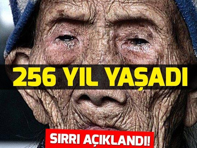 256 yıl yaşayan adamın sırrı