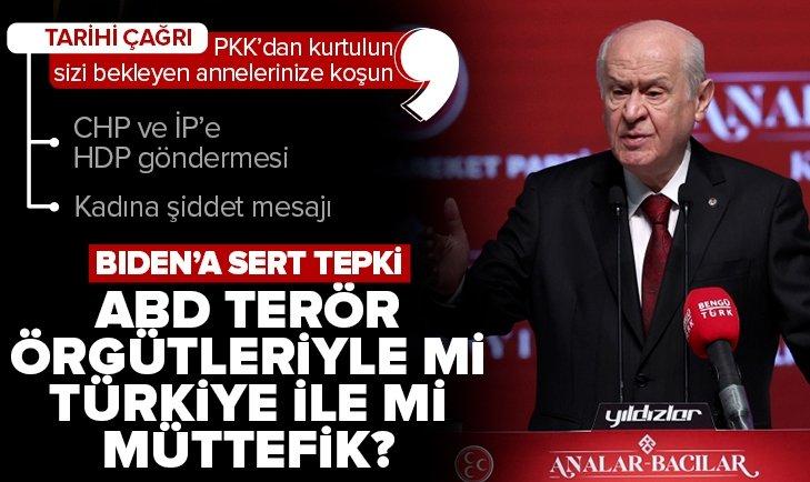 Son dakika: MHP Genel Başkanı Devlet Bahçeli'den Türkiye'nin Asli Gücü Analar Bacılar Kurultayı'nda önemli açıklamalar