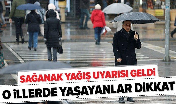 METEOROLOJİ'DEN YAĞIŞ UYARISI GELDİ!