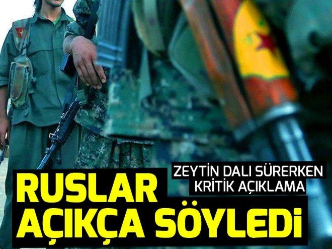 RUSYA: ABD, YPG'YE SİLAH GÖNDERMEYE DEVAM EDİYOR