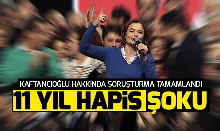 CHP İstanbul İl Başkanı Canan Kaftancıoğlu için 11 yıl kadar hapis cezası istemi