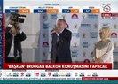 Türkiye'nin birinci başkanı balkon konuşmasını gerçekleştirdi