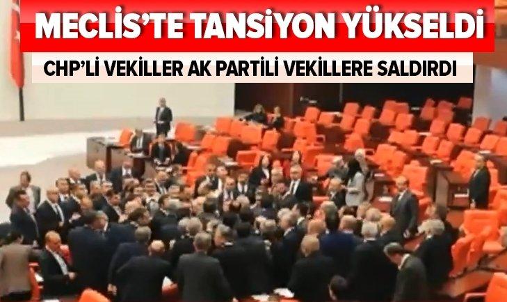 TBMM KARIŞTI! CHP'Lİ VEKİLLER...