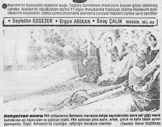 Son dakika: İşte PKK'nın sivil katliamları! Kundaktaki bebekten masumlara...