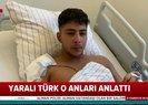Almanyadaki saldırıdan yaralı kurtulan Türk A Habere konuştu |Video