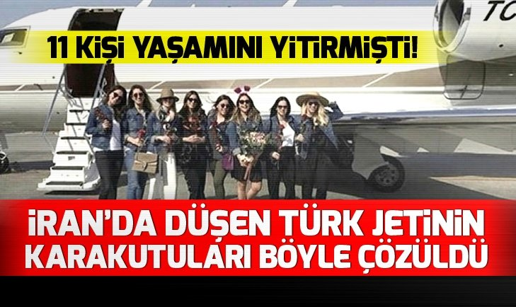 Türk jetinin karakutuları böyle çözüldü
