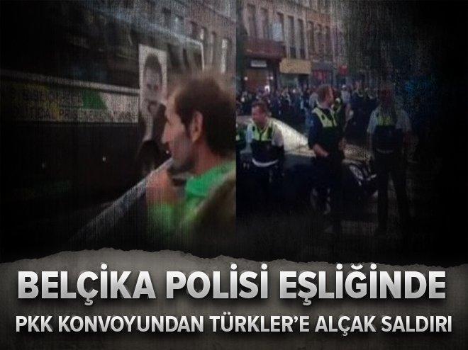 TERÖR ÖRGÜTÜ PKK YANDAŞLARINDAN SALDIRI
