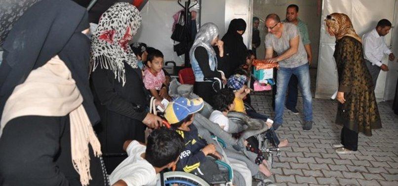 Engelli Suriyeli mültecilerin sorunlarına çözüm aranacak