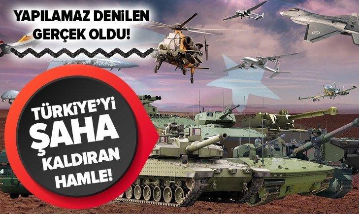 İŞTE TÜRKİYE'NİN YERLİ VE MİLLİ SİLAHLARI!