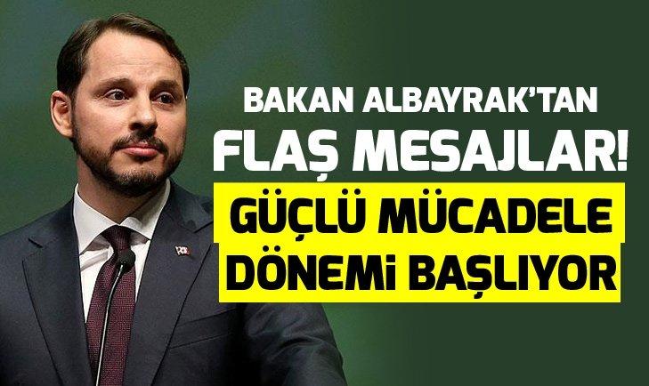 BERAT ALBAYRAK'TAN ENFLASYON MESAJI