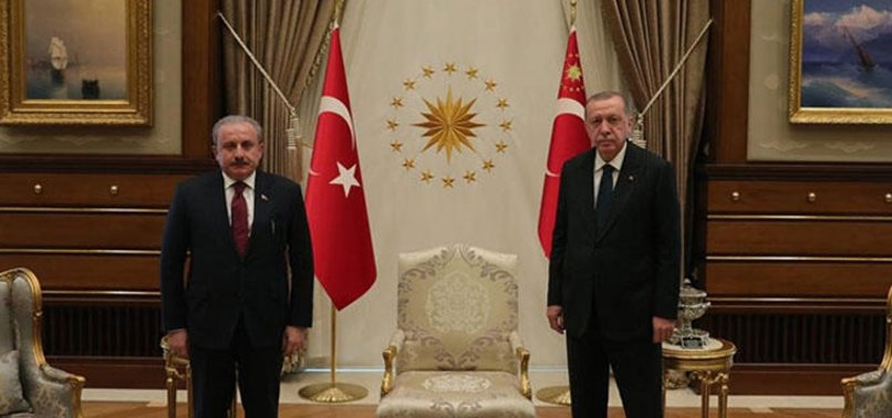 TBMM Başkanı Mustafa Şentop'tan Yunan basınına tepki Başkan Erdoğan'a destek