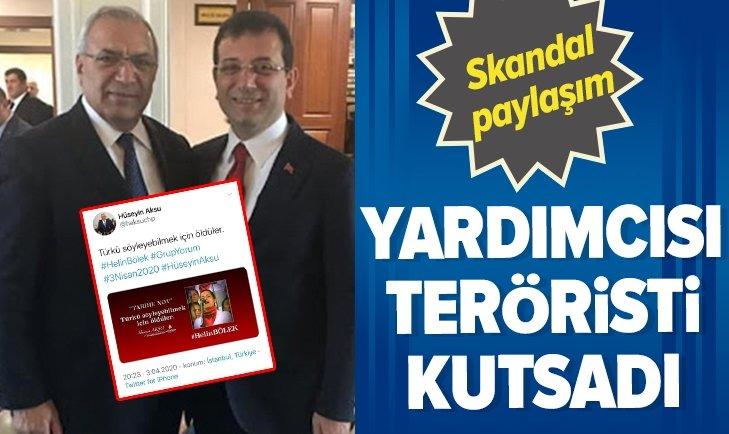 CHP'Lİ İMAMOĞLU'NUN YARDIMCISINDAN SKANDAL PAYLAŞIM!