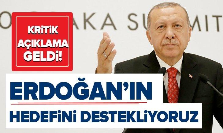 ERDOĞAN'IN 5 MİLYAR DOLARLIK TİCARET HACMİ HEDEFİ...