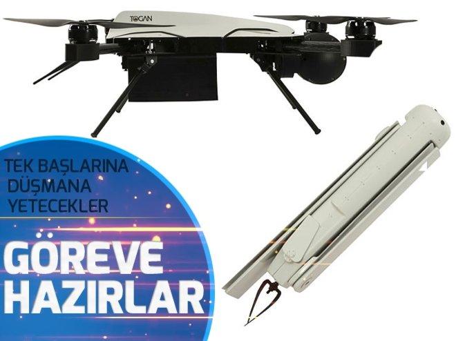 Türkiye'nin kamikaze droneları göreve hazır