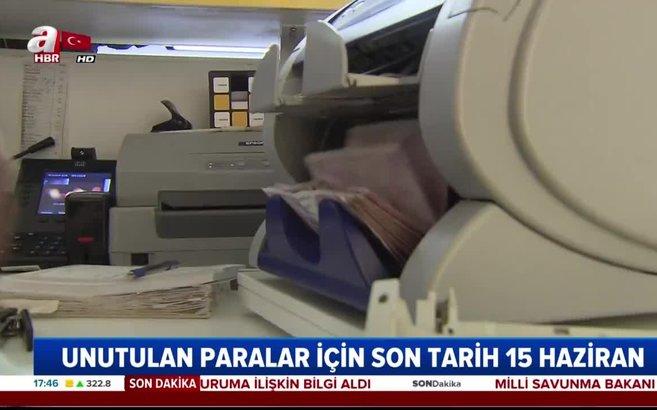 Bankalarda para unutanlar bu tarihe dikkat! TMSF'den vatandaşlara 240 milyon liralık çağrı |Video