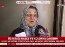 Başkan Erdoğan talimat vermişti! Ücretsiz maske ve kolonya dağıtımı başladı  Video