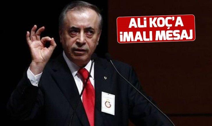 GALATASARAY BAŞKANI CENGİZ'DEN ALİ KOÇ'A GÖNDERME