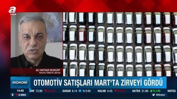 Otomotiv satışları Mart'ta zirveyi gördü