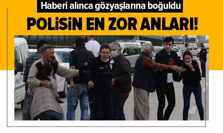 ADANA'DA KATLİAM GİBİ KAZA! POLİSİN EN ZOR ANLARI