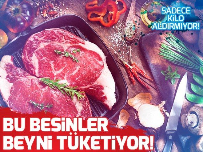 BU BESİNLER BEYNİ TÜKETİYOR!