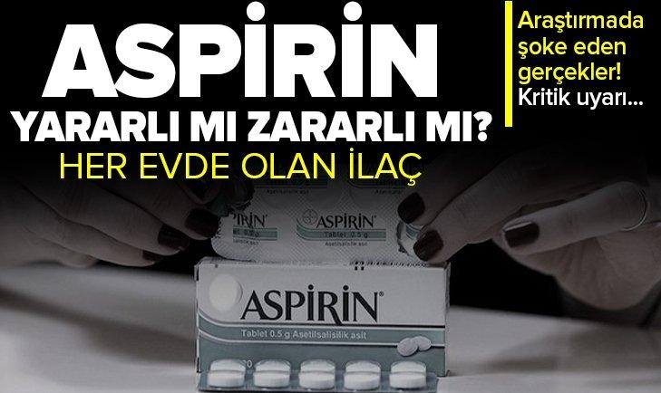 Aspirin hakkında korkutan gerçek! 60 yaş üstüne kritik uyarı! Düşük doz da olsa...