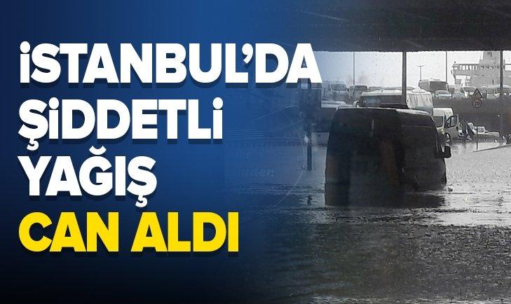 İSTANBUL'DA YAĞIŞ CAN ALDI
