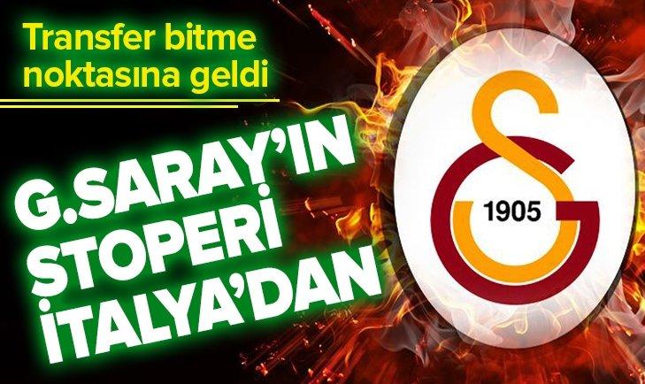 İŞTE GALATASARAY'IN YENİ STOPERİ! TRANSFER BİTİYOR