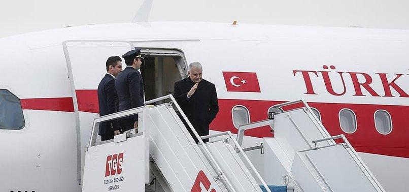 BAŞBAKAN YILDIRIM AZERBAYCAN'A GİDİYOR