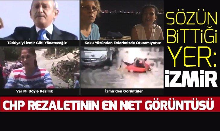 CHP yönetimindeki İzmir'in içler acısı durumu