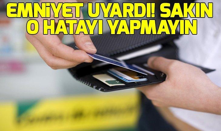 HIRSIZLIKTA 'KREDİ KARTI' DÖNEMİ