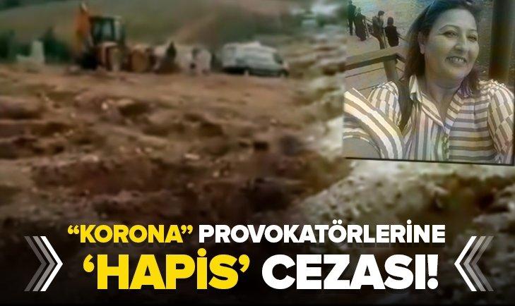 Korona provokatörlerinin cezası belli oldu