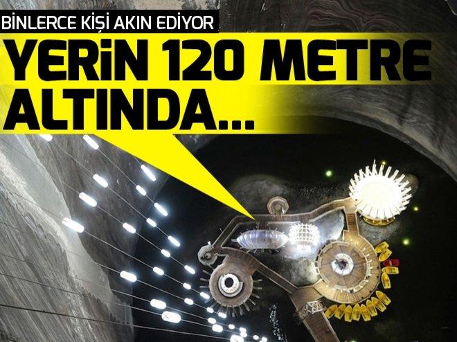 BU LUNAPARK YERİN 120 METRE ALTINDA