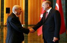 Erdoğan'dan Devlet Bahçeli'ye tebrik