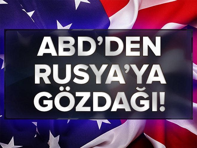 ABD SENATOSUNDAN RUSYA'YA GÖZDAĞI