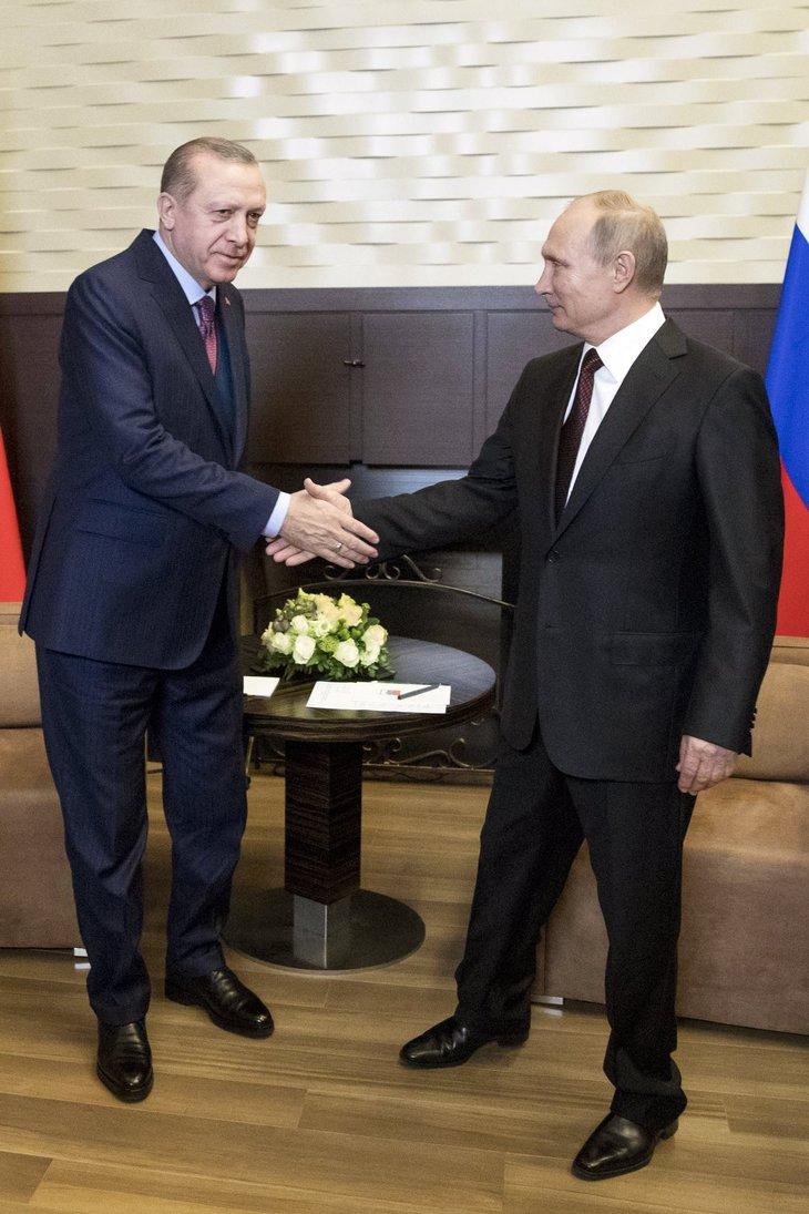 Cumhurbaşkanı Erdoğan Rusya'da
