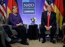 Son dakika: Merkel ile görüşen Trump'tan Türkiye açıklaması