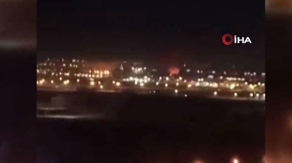 Erbil Havalimanı'na saldırı