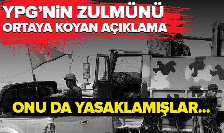 YPG/PKK'NIN KİRLİ YÜZÜNÜ ANLATTI! ONU DA YASAKLAMIŞLAR...