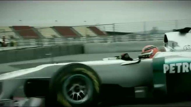 Schumacher'in yeni görüntüleri şoke etti