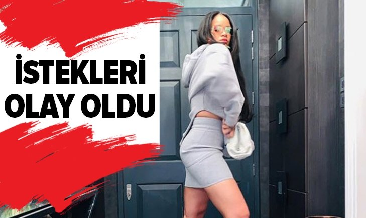 RİHANNA'NIN İSTEKLERİ HERKESİ ŞOKE ETTİ!