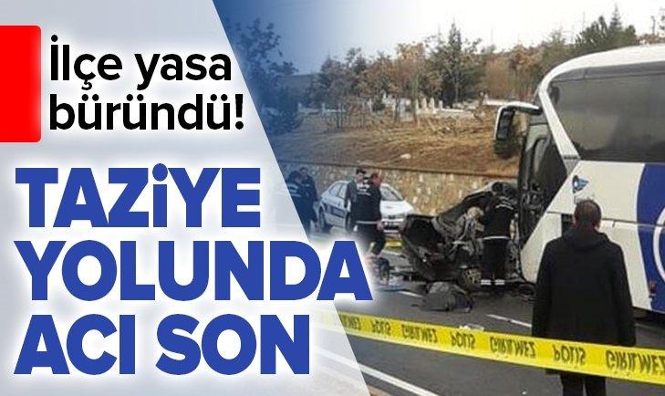 TAZİYE YOLUNDA ACI SON! BELEDİYE BAŞKANININ SEKRETERİ...