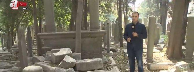 Definecilerin hedefi Eyüpsultan Mezarlığı!