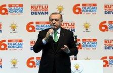 Erdoğan: Biz ABD'ye dedik ki...