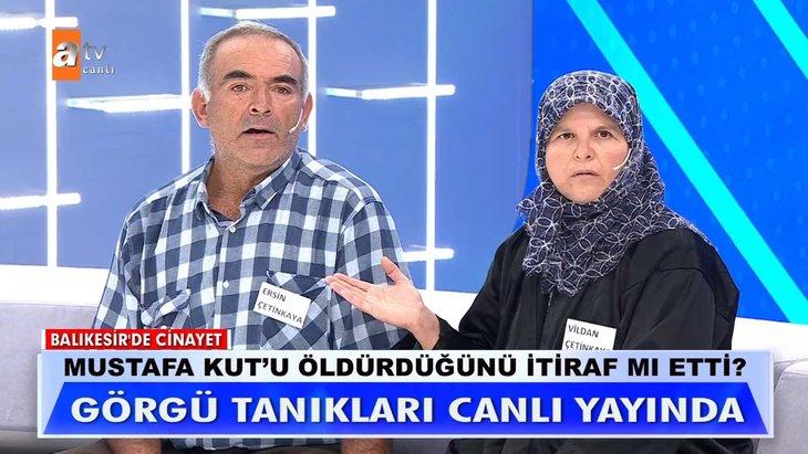 Müge Anlı'daki Mustafa Kut cinayetinde çarpıcı iddia! Canlı yayında  açıkladı stüdyo buz kesti: Gece kadın